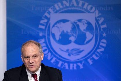 """El Director del Departamento del Hemisferio Occidental del Fondo, Alejandro Werner dijo que el cronograma de negociación del Gobierno es """"ambicioso"""" pero no descartó un acuerdo en mayo. (Foto: EFE/Erik S. Lesser)"""
