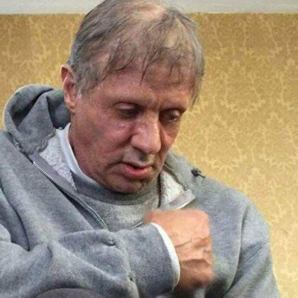 """Una de las imagenes de Stallone en la filmación de """"Creed"""" que disparó los rumores maliciosos"""