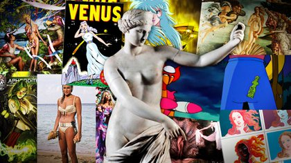 Afrodita, la diosa que conquistó la cultura pop