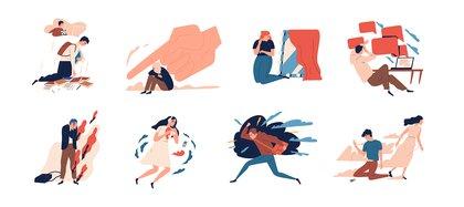 Durante el aislamiento, las personas pusieron el foco en sus emociones (Shutterstock)