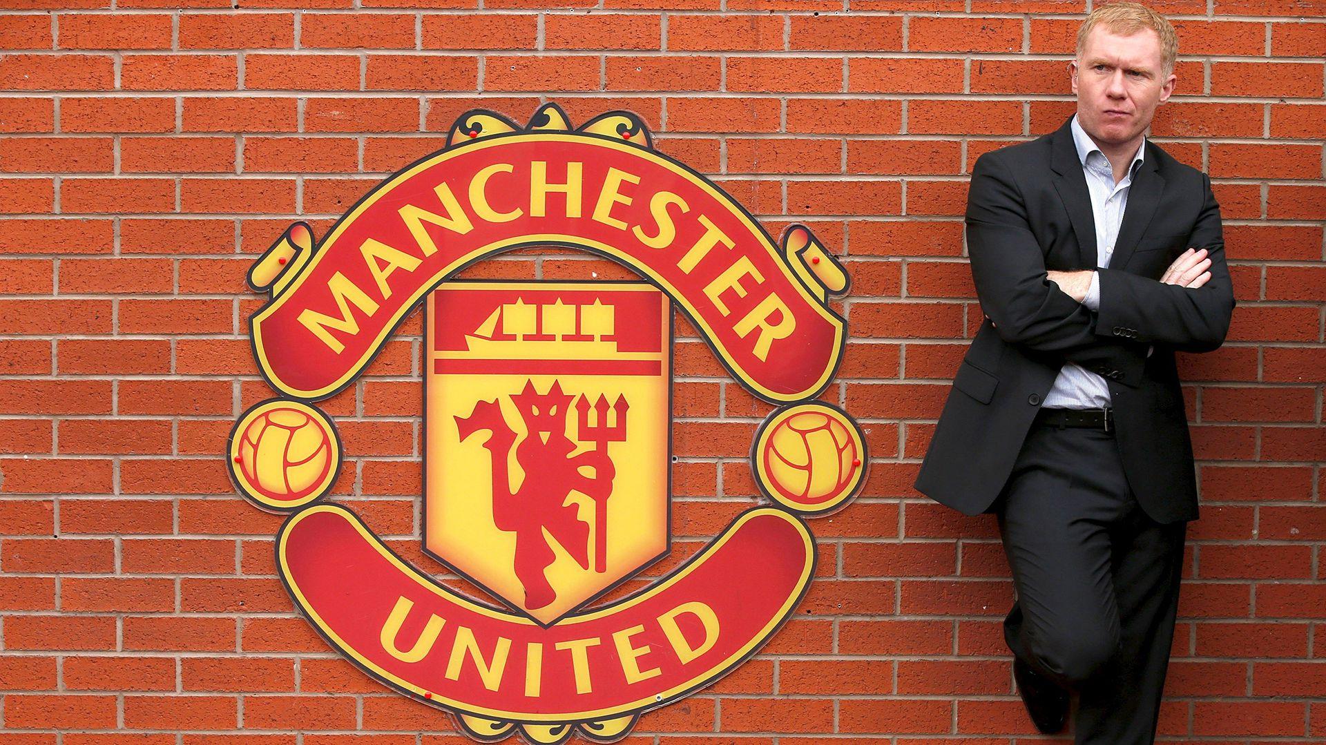 Paul Scholes es una gloria del Manchester United (Foto: Reuters)