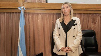 La jueza María Eugenia Capuchetti (foto Adrián Escandar)