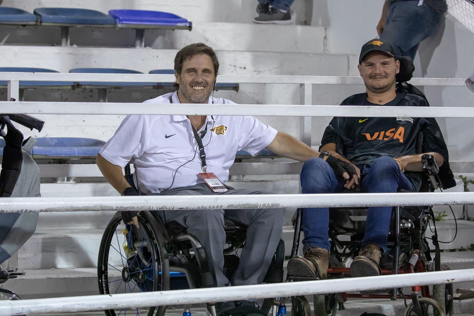 Juan Manuel Marchetto junto a Ignacio Nacho Rizzi