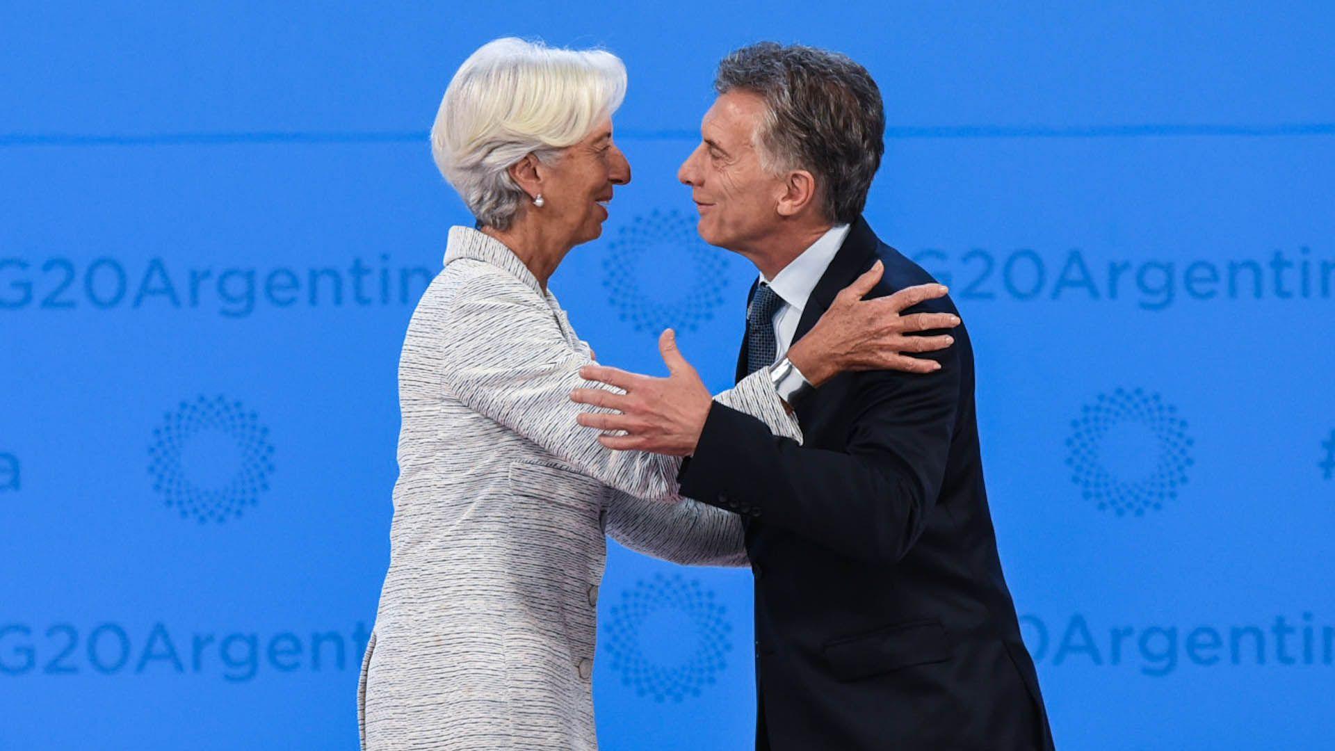 Lagarde y Macri (Manuel Cortina)
