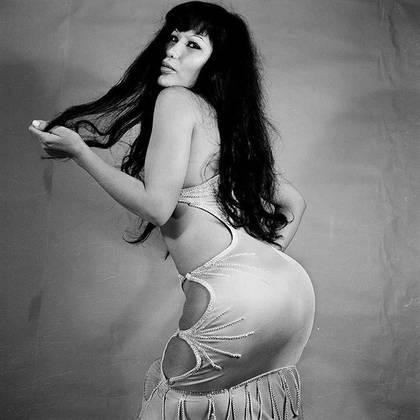 Fue una famosa vedette en los años 60 y 70 en México (IG: lyn_may_)