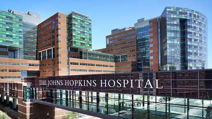 El hospital Johns Hopkins en Maryland
