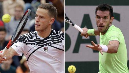 Schwartzman y Mayer ganaron en primera ronda de Roland Garros