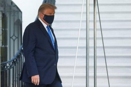 El presidente de Estados Unidos, Donald Trump, dio positivo por coronavirus REUTERS / Leah Millis