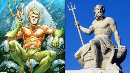 Aquaman y Poseidón