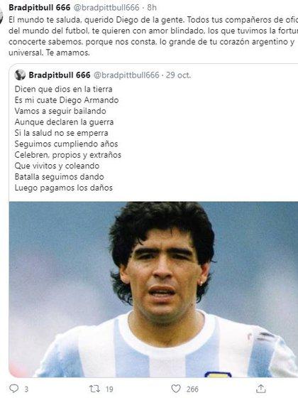 El emotivo mensaje de Andrés Calamaro (Foto: Twitter)
