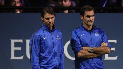 Ambos tenistas formaron equipo en la Laver Cup