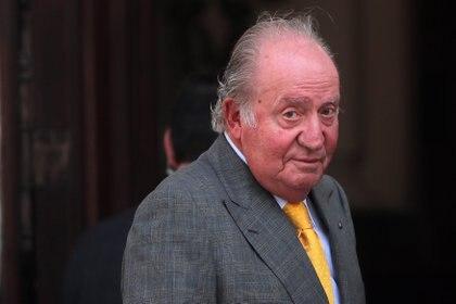 El rey emérito Juan Carlos. EFE/Mario Ruiz/Archivo