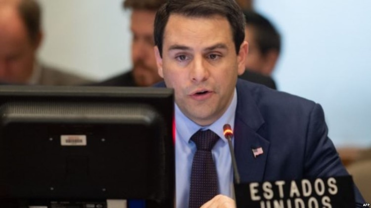 El embajador estadounidense ante la OEA, Carlos Trujillo, asume el lunes 1 de abril de 2019 la presidencia del Consejo Permanente de la organización.