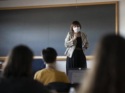 Se ha analizado la posibilidad de volver a clases en diferentes estados (Foto: María José López/Europa Press)