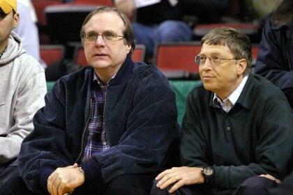 """""""Microsoft nunca hubiera sucedido sin Paul"""", escribió Bill Gates en su blog, GatesNotes, en 2018, cuando murió Allen"""