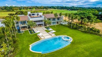 Una de las villas privadas de Casa de Campo, en República Dominicana