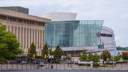 El BOK Center, también conocido como Bank of Oklahoma Center, es un pabellón multiusos diseñado por César Pelli (Shutterstock)