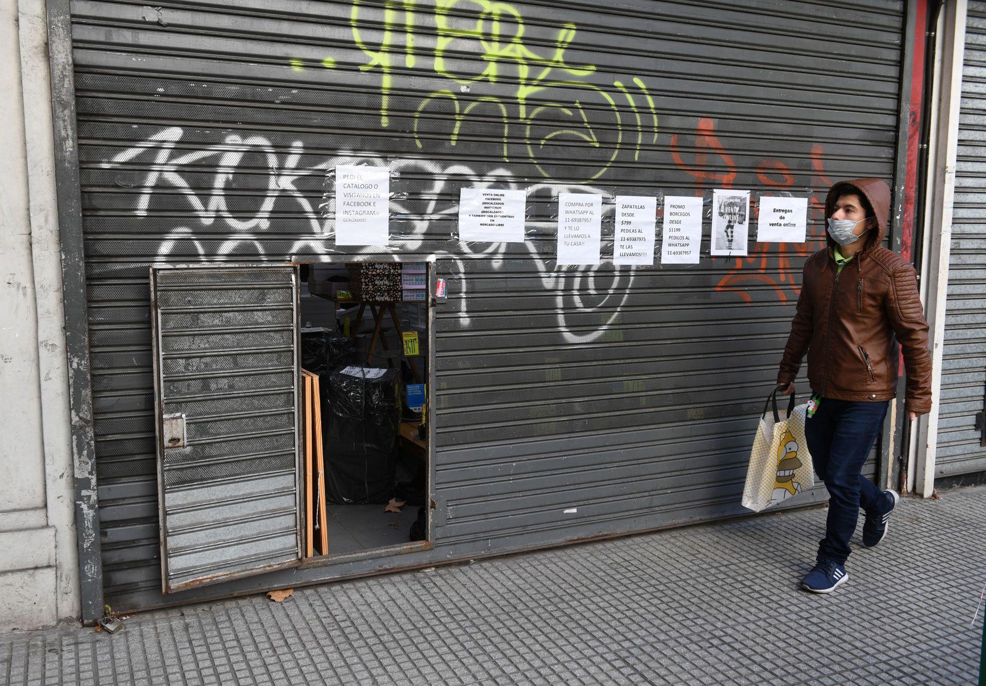 Cierran comercios zona Palermo 3-4 SF