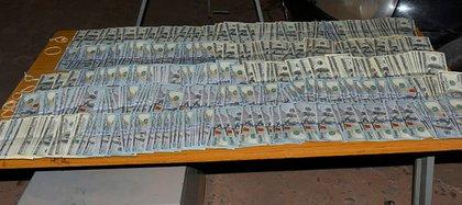 El último secuestro de dolares que realizó la Gendarmería en Salta.