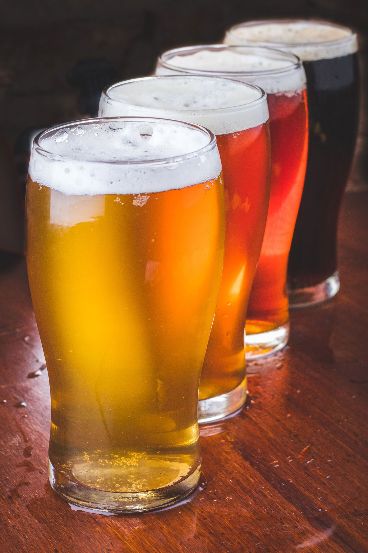 La cervecería cuenta con una selección de 38 canillas