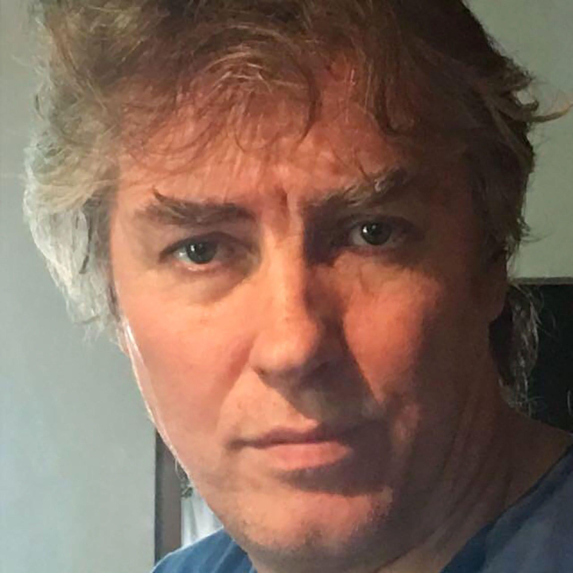 Hugo Capparelli a sus 54 años