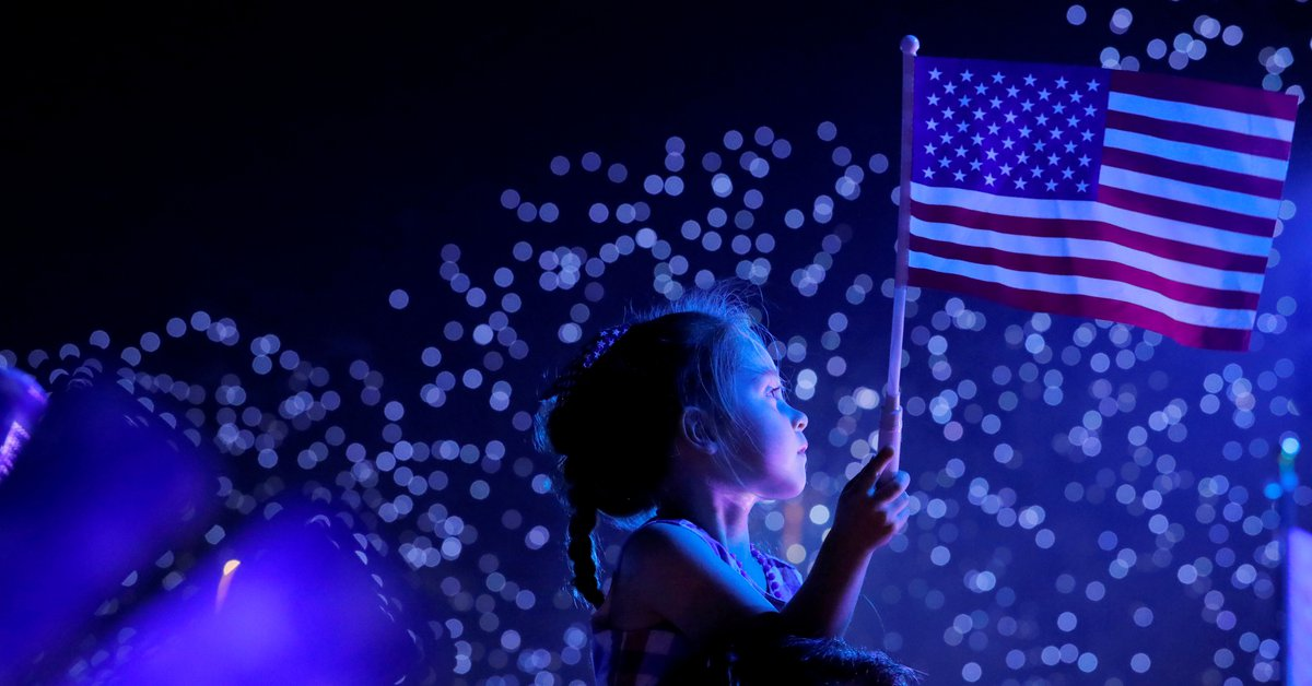 The Best Photos of USA Independence Day 2021: a reunion party