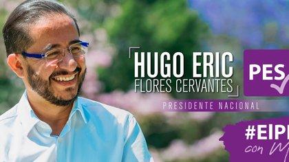 Hugo Eric Flores Cervantes se pronunció en contra de la despenalización y legalización del aborto el mismo día que lanzaron el spot propagandístico del PES, donde se manifestaron en contra de la adopción homoparental (Foto: Hugo Eric Flores Cervantes / Facebook)