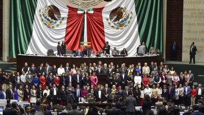 Miembros de partidos opositores han criticado la entrada en vigor de la ley (Foto: Cuartoscuro)