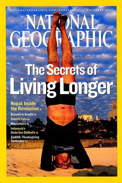 La portada de la revista de National Geographic de noviembre de 2005, una de las más vendidas en la historia de la editorial