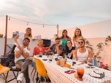 El reencuentro de Sofía Pachano y Santiago Ramundo en México