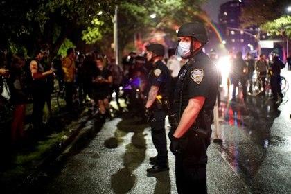 En muchas ciudades de EEUU se han presentado protestas por la muerte de Floyd. REUTERS/Eduardo Munoz