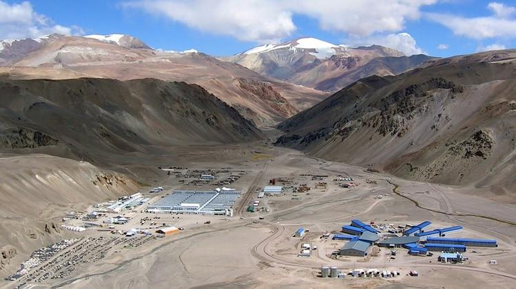 La mina Veladero explotada por Barrick Gold (NA)