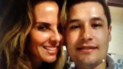 La actriz Kate del Castillo y Jesús Guzmán Salazar, uno de los hijos del 'Chapo' Guzmán