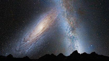 La materia oscura se conocía, son trabajos que vienen de fines de los 90, pero no se sabía cómo estaba distribuida dentro de las galaxias, explicó Navarro a Infobae. (Foto: NASA)