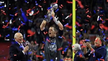 Tom Brady en el Super Bowl LI (Foto: AP)