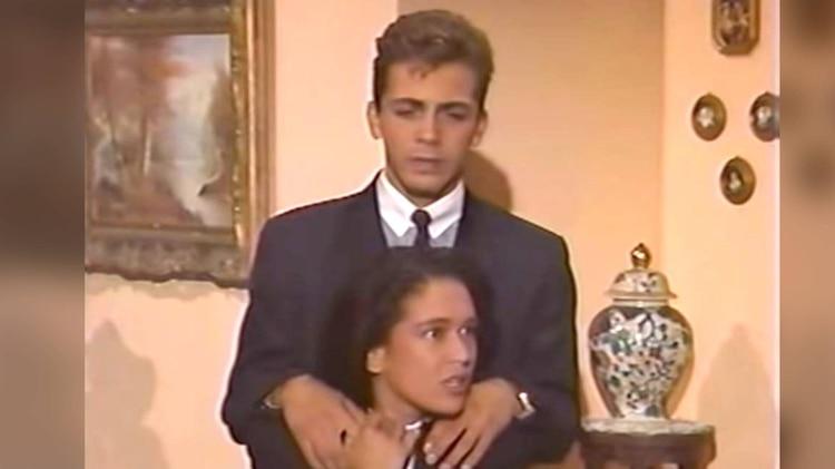 Compartieron reflectores en una telenovela (Foto: Captura de pantalla Televisa)