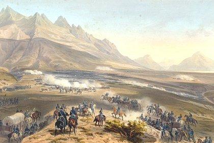"""Publicado en el libro de 1851 """"La guerra entre Estados Unidos y México, ilustrada"""""""