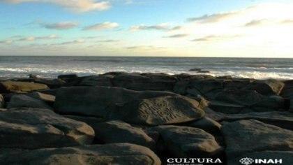 La zona arqueológica Las Labradas se localiza en la costa del océano Pacífico, en el ejido La Chicayota, municipio de San Ignacio. Foto Mauricio