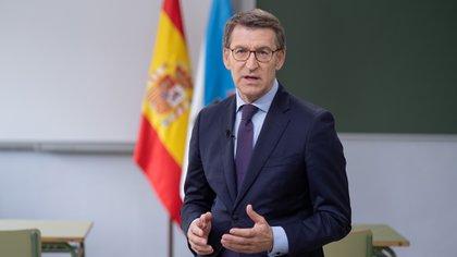 El presidente de la Xunta de Galicia, Alberto Núñez Feijóo, del Partido Popular, va por su carta victoria consecutiva para igualar el récord del histórico Manuel Fraga.
