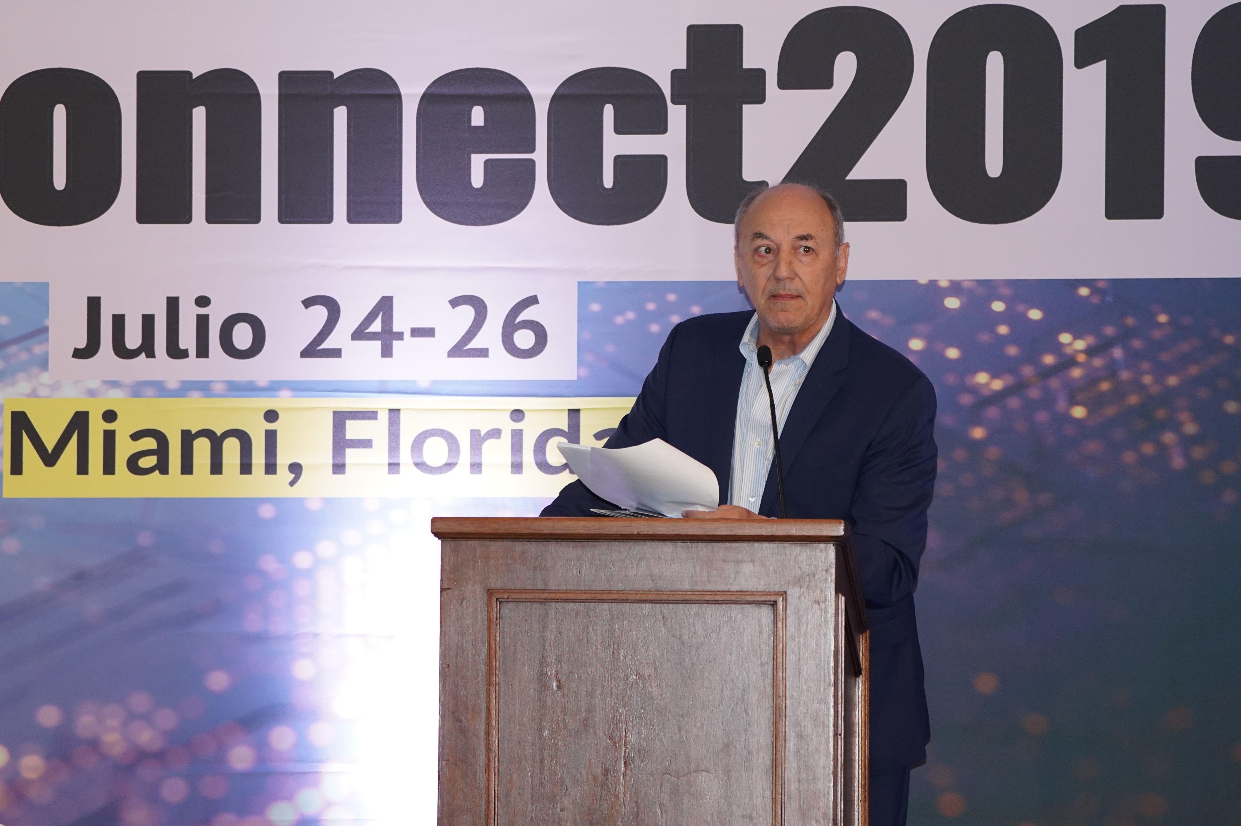 Ricardo Trotti, director ejecutivo de la SIP, inauguró el encuentro de 224 periodistas y editores.