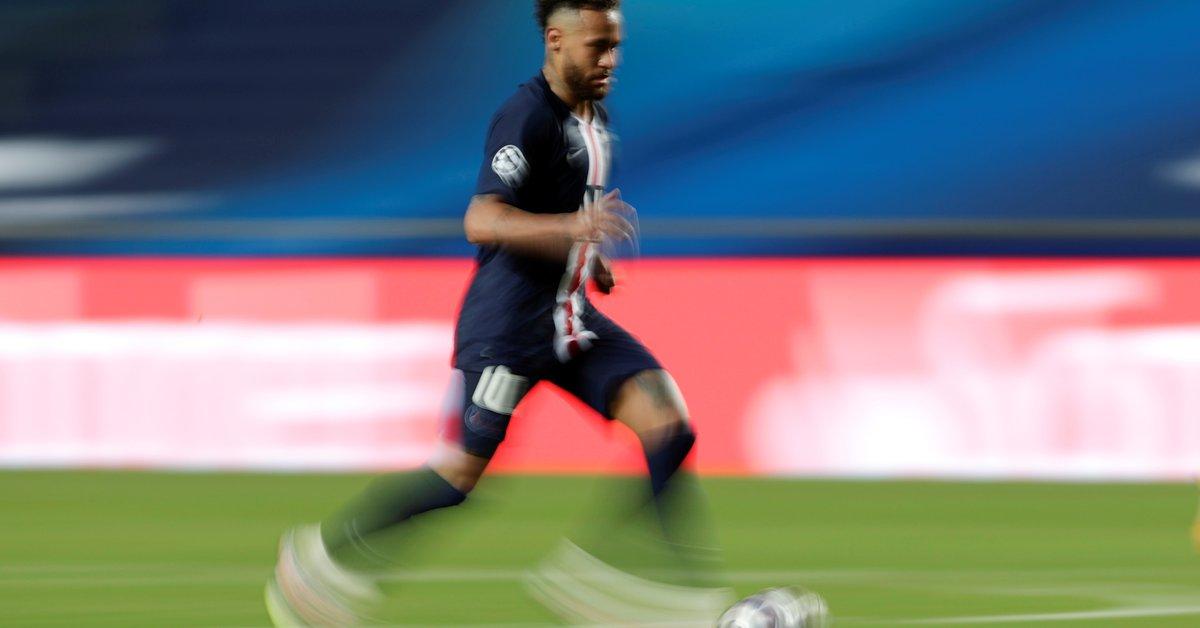 Neymar, clave en el triunfo del PSG: asistencia de lujo, caños y alocado festejo en el vestuario   - Infobae