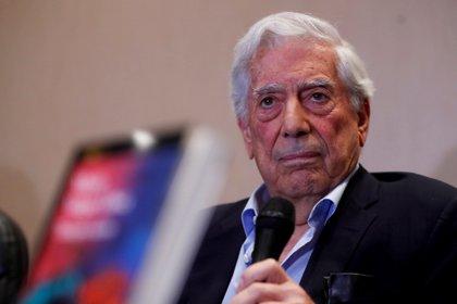 The Peruvian writer and 2010 Nobel Prize in Literature, Mario Vargas Llosa