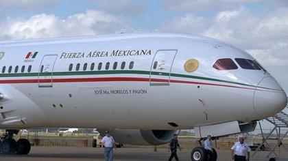 El avión presidencial, adquirido en el sexenio de Peña Nieto  Foto: Archivo