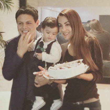 Giovanni y Ninel se convirtieron en padres de Emmanuel en octubre de 2014 (Instagram: giovannimedinam)