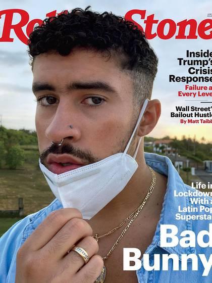 La novia de Bad Bunny lo fotografió para la revista Rolling Stone