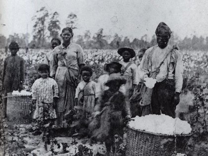 familia esclavos georgia 1850 New York Historical Society Wikimedia 400 esclavitud