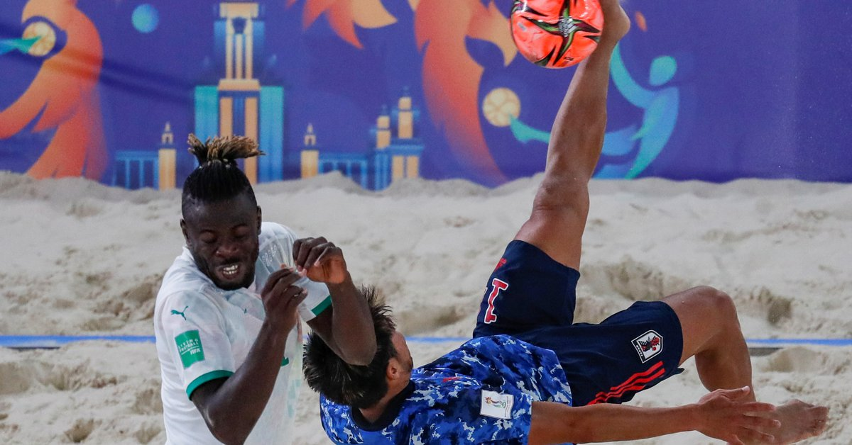 Russia and Japan will play the Final of the Beach Soccer World Cup