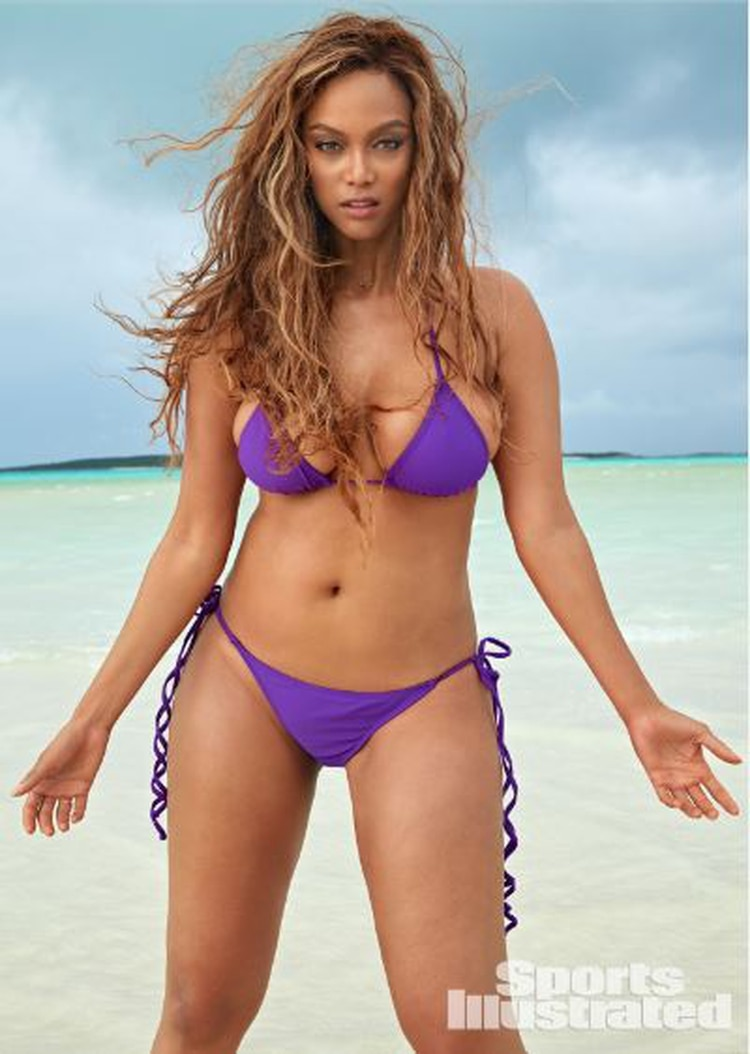 Tyra Banks en Sports Illustrated (Foto: Sports Illustrated)