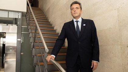 El líder del Frente Renovador Sergio Massa (Adrián Escandar)