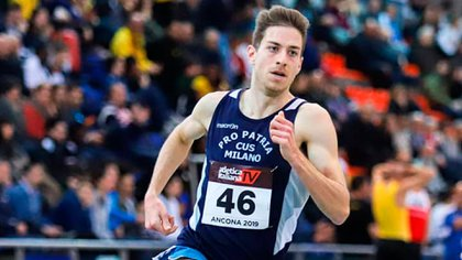 Atleta del Cus Pro Patria Milano. Tiene una marca de 3:49.89 en 1.500 metros. Foto: @edo.kipkeino